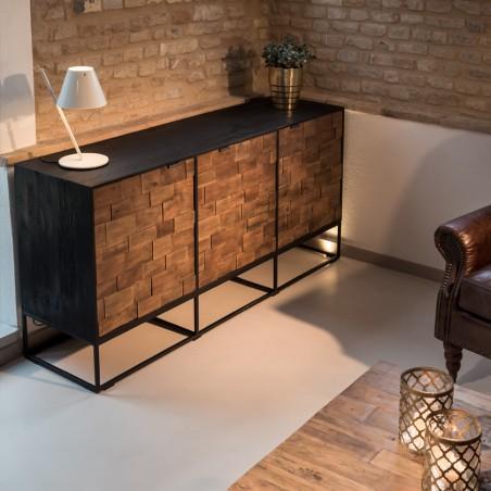 Buffet design Pauline legno naturale
