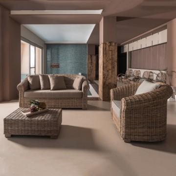 Lounge Set King in rattan...