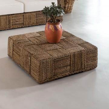 Tavolino-pouff Abaca design...