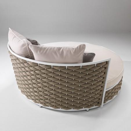 Daybed lounger Manhattan design per esterno