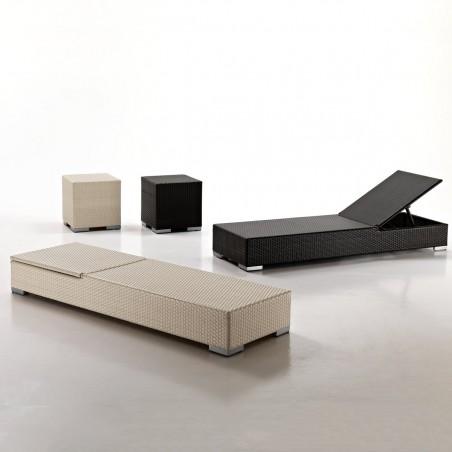 Lettino design minimal alta qualità