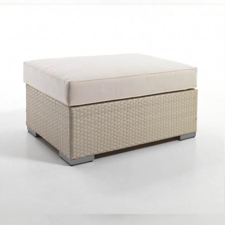Tavolino-pouff per divano modulare