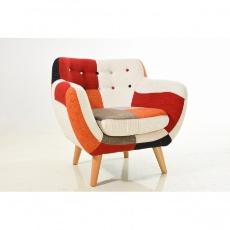 Poltrona Koola patchwork design