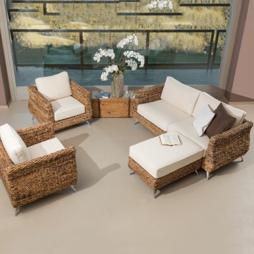 Lounge Set Tulipy banano...