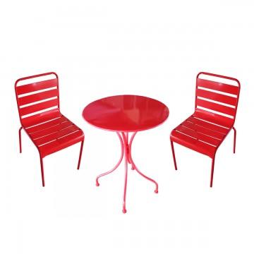 Set 2 Sedie e Tavolino in...