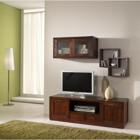 Base porta-tv stile etnico moderno compact