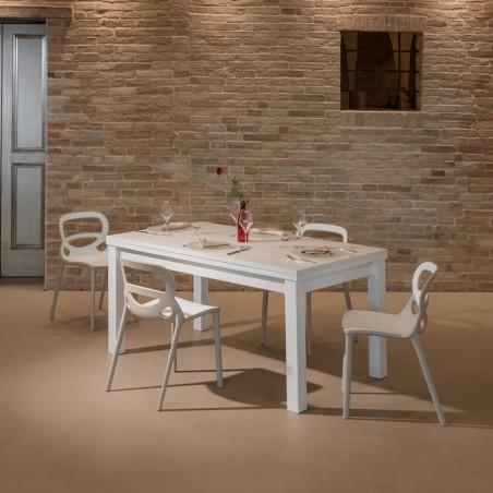 Tavolo Aliante allungabile 160/240 in legno